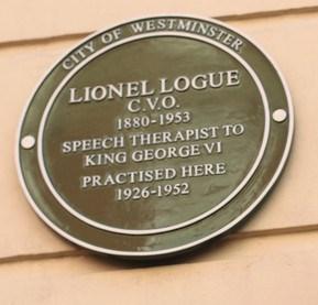 lionel-logue-plaque
