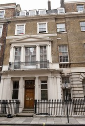 The PHOBIAMAN Clinic - Harley Street - front of building